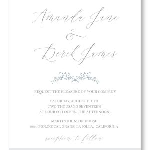 Abstract Herringbone Invite